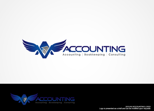 Av Accounting A Logo, Monogram, or Icon  Draft # 273 by hands4art