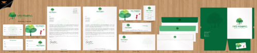 Business cards, stationery, email signatures