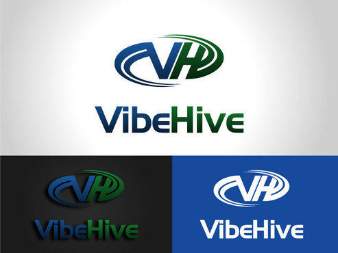 Vibe Hive A Logo, Monogram, or Icon  Draft # 3 by saiiah