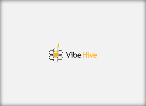 Vibe Hive A Logo, Monogram, or Icon  Draft # 7 by Stumbler