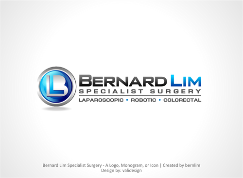 Bernard Lim Specialist Surgery A Logo, Monogram, or Icon  Draft # 22 by validesign