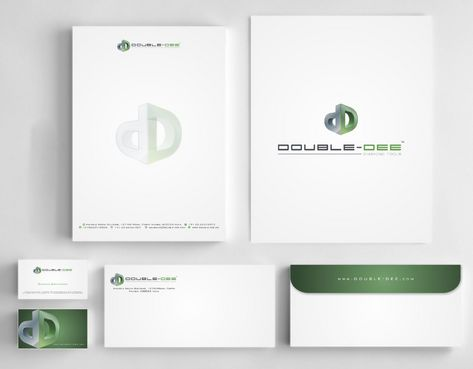 Double-Dee please refer to the concluded Logo Project Business Cards and Stationery  Draft # 215 by Deck86