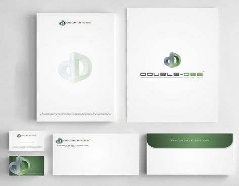 Double-Dee please refer to the concluded Logo Project Business Cards and Stationery  Draft # 226 by Deck86