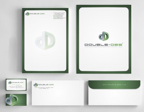 Double-Dee please refer to the concluded Logo Project Business Cards and Stationery  Draft # 227 by Deck86