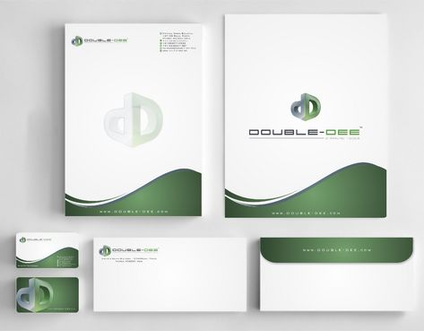 Double-Dee please refer to the concluded Logo Project Business Cards and Stationery  Draft # 233 by Deck86