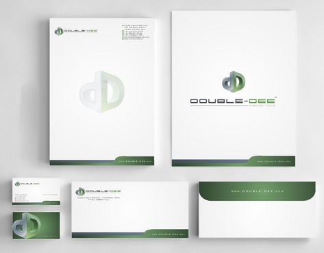 Double-Dee please refer to the concluded Logo Project Business Cards and Stationery  Draft # 244 by Deck86
