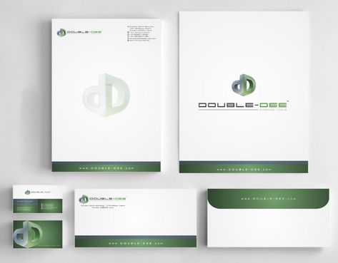 Double-Dee please refer to the concluded Logo Project Business Cards and Stationery  Draft # 246 by Deck86