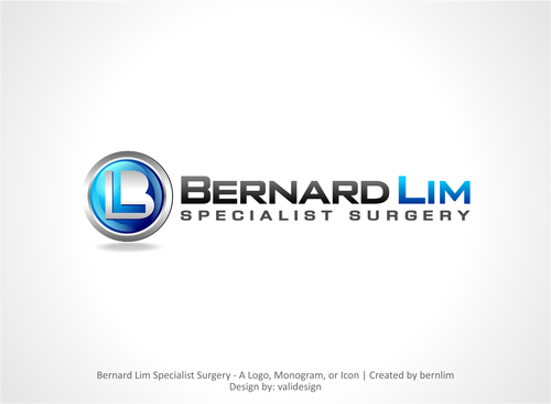 Bernard Lim Specialist Surgery Logo Winning Design by validesign