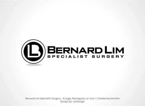 Bernard Lim Specialist Surgery A Logo, Monogram, or Icon  Draft # 30 by validesign