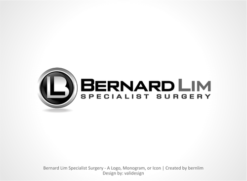 Bernard Lim Specialist Surgery A Logo, Monogram, or Icon  Draft # 31 by validesign