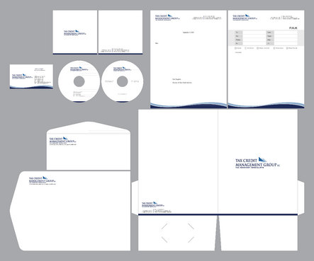 Letterhead, business cards and envelopes.