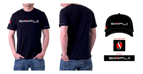 Simplii T-Shirt and Hat Design