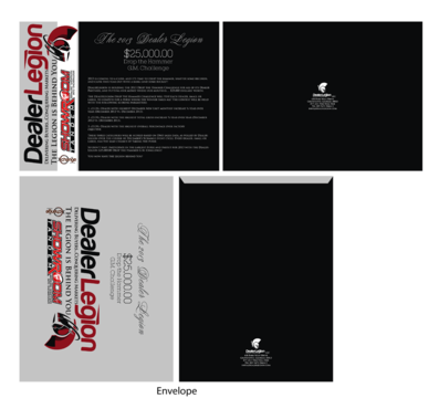 "The DealerLegion 2013 $25,000.00 ""Drop the Hammer"" G.M. Challenge Marketing collateral  Draft # 9 by Pavel"