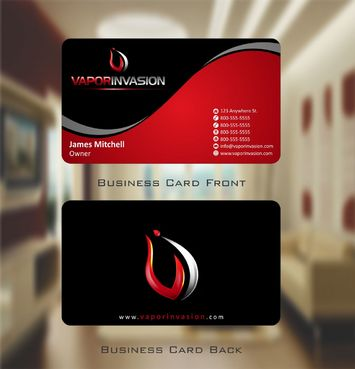Using Apptech's Logo Business Cards and Stationery  Draft # 121 by Deck86
