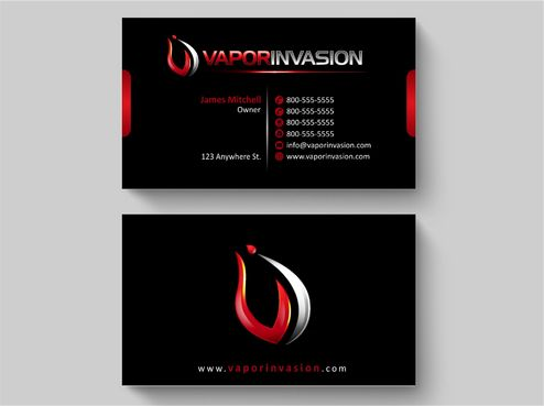 Using Apptech's Logo Business Cards and Stationery  Draft # 133 by Deck86