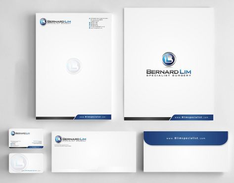 Bernard Lim Specialist Surgery Business Cards and Stationery  Draft # 220 by Deck86