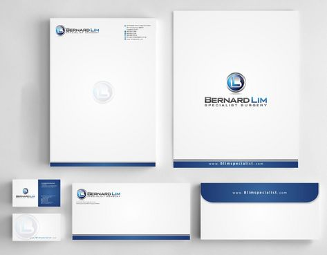 Bernard Lim Specialist Surgery Business Cards and Stationery  Draft # 222 by Deck86