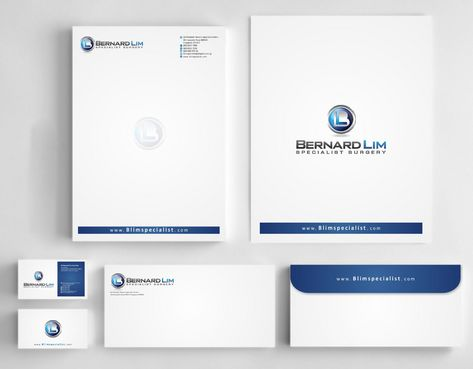 Bernard Lim Specialist Surgery Business Cards and Stationery  Draft # 223 by Deck86