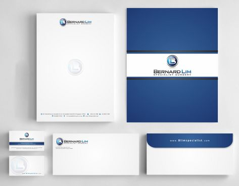 Bernard Lim Specialist Surgery Business Cards and Stationery  Draft # 224 by Deck86