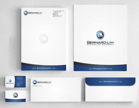 Bernard Lim Specialist Surgery Business Cards and Stationery  Draft # 226 by Deck86
