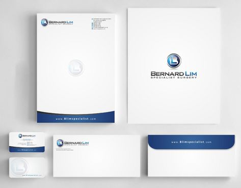 Bernard Lim Specialist Surgery Business Cards and Stationery  Draft # 228 by Deck86