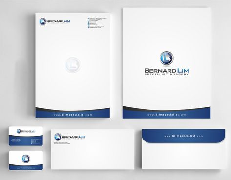 Bernard Lim Specialist Surgery Business Cards and Stationery  Draft # 229 by Deck86