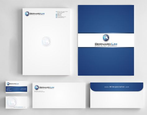 Bernard Lim Specialist Surgery Business Cards and Stationery  Draft # 230 by Deck86