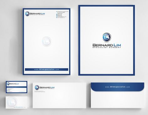 Bernard Lim Specialist Surgery Business Cards and Stationery  Draft # 232 by Deck86