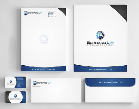 Bernard Lim Specialist Surgery Business Cards and Stationery  Draft # 233 by Deck86