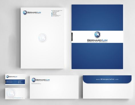 Bernard Lim Specialist Surgery Business Cards and Stationery  Draft # 235 by Deck86
