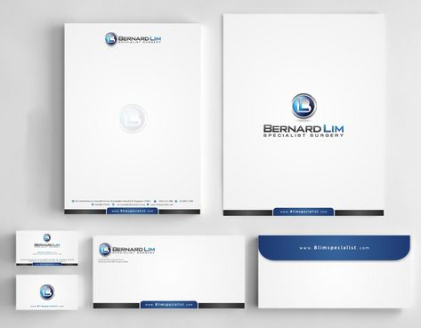 Bernard Lim Specialist Surgery Business Cards and Stationery  Draft # 236 by Deck86