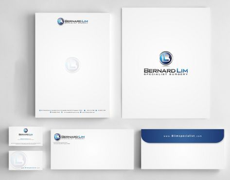 Bernard Lim Specialist Surgery Business Cards and Stationery  Draft # 237 by Deck86