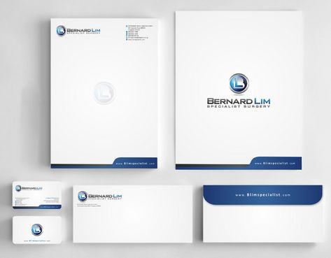 Bernard Lim Specialist Surgery Business Cards and Stationery  Draft # 240 by Deck86