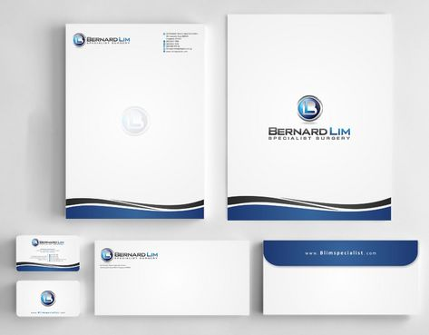 Bernard Lim Specialist Surgery Business Cards and Stationery  Draft # 241 by Deck86