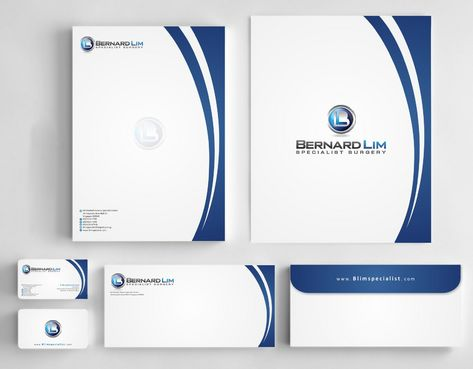 Bernard Lim Specialist Surgery Business Cards and Stationery  Draft # 243 by Deck86