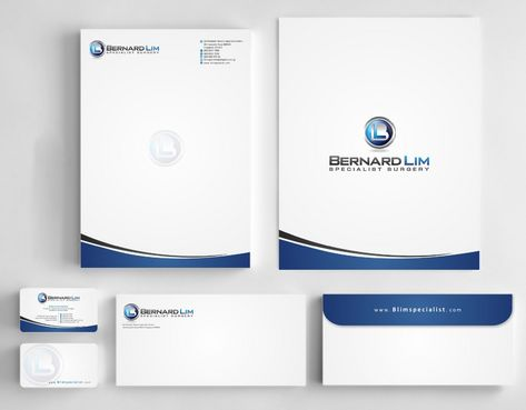 Bernard Lim Specialist Surgery Business Cards and Stationery  Draft # 244 by Deck86