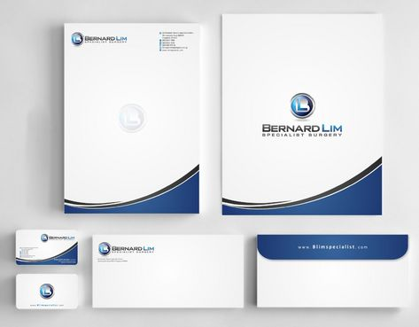Bernard Lim Specialist Surgery Business Cards and Stationery  Draft # 245 by Deck86