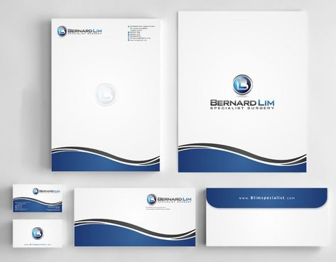 Bernard Lim Specialist Surgery Business Cards and Stationery  Draft # 246 by Deck86
