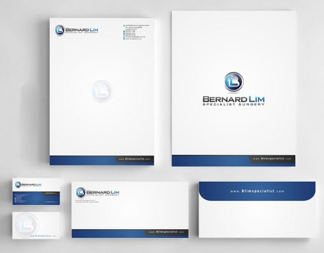 Bernard Lim Specialist Surgery Business Cards and Stationery  Draft # 247 by Deck86