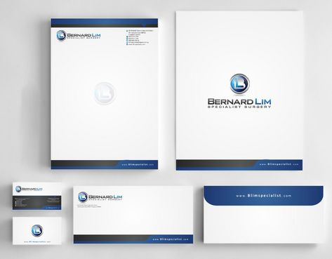 Bernard Lim Specialist Surgery Business Cards and Stationery  Draft # 248 by Deck86