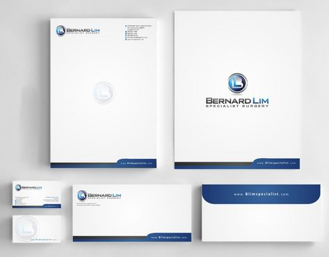 Bernard Lim Specialist Surgery Business Cards and Stationery  Draft # 249 by Deck86