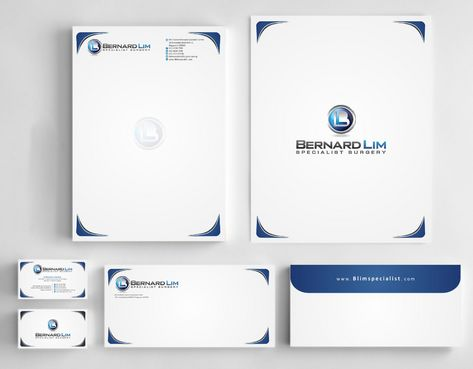 Bernard Lim Specialist Surgery Business Cards and Stationery  Draft # 250 by Deck86