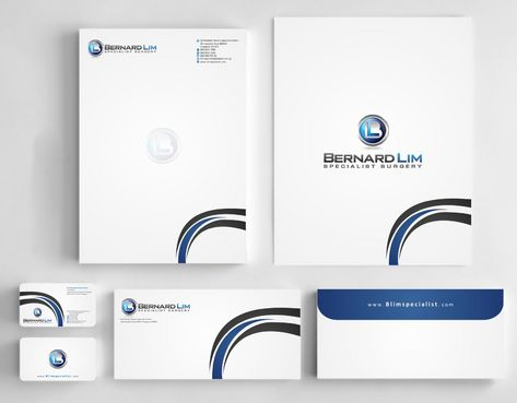 Bernard Lim Specialist Surgery Business Cards and Stationery  Draft # 251 by Deck86