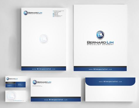 Bernard Lim Specialist Surgery Business Cards and Stationery  Draft # 252 by Deck86