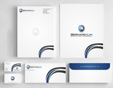 Bernard Lim Specialist Surgery Business Cards and Stationery  Draft # 253 by Deck86