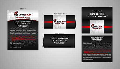"The DealerLegion 2013 $25,000.00 ""Drop the Hammer"" G.M. Challenge Marketing collateral  Draft # 20 by Kaiza"