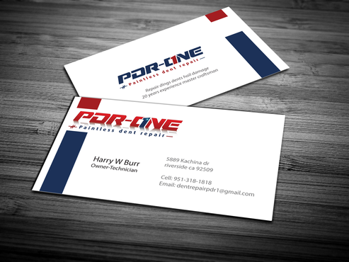 Pdr One Business Cards And Stationery By Dentrepair