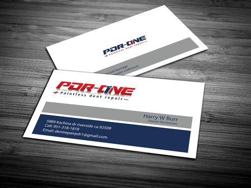Pdr one business cards and stationery by dentrepair paintless dent repair business cards and stationery draft 259 by jpgart92 reheart Choice Image