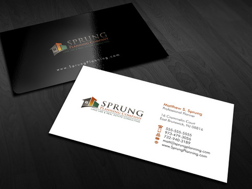 Matthew S. Sprung  Business Cards and Stationery  Draft # 1 by Xpert