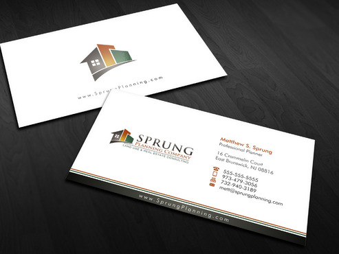 Matthew S. Sprung  Business Cards and Stationery  Draft # 2 by Xpert